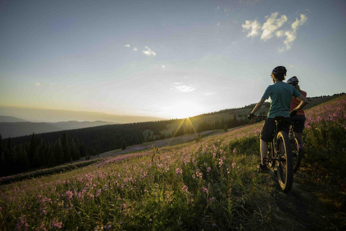 Sun Peaks mountain biking