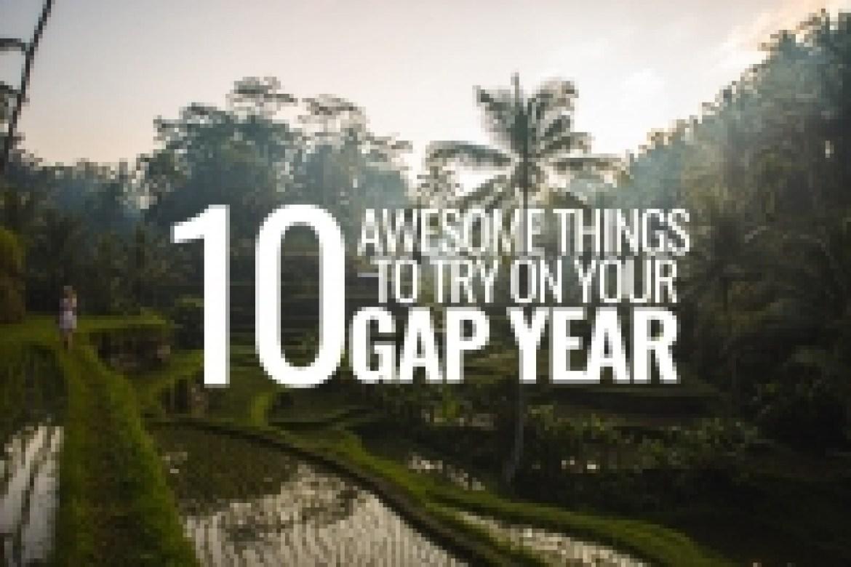 10 gap year ideas