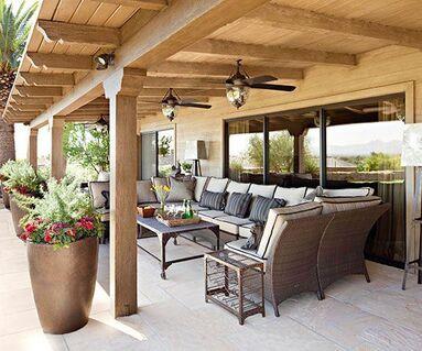 backyard patio covers