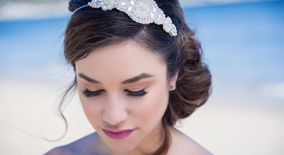 beach bridal beauty