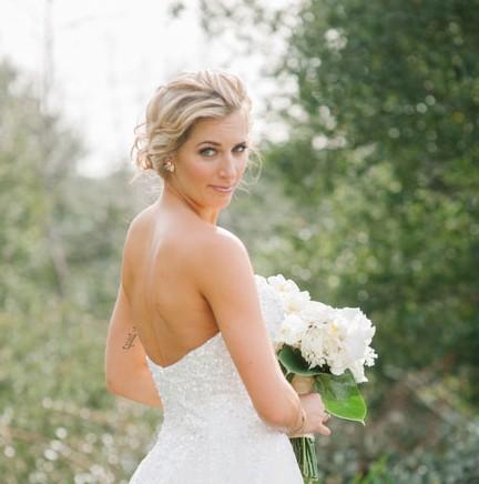 Platinum Blonde Bride Makeup Artist Los Angeles