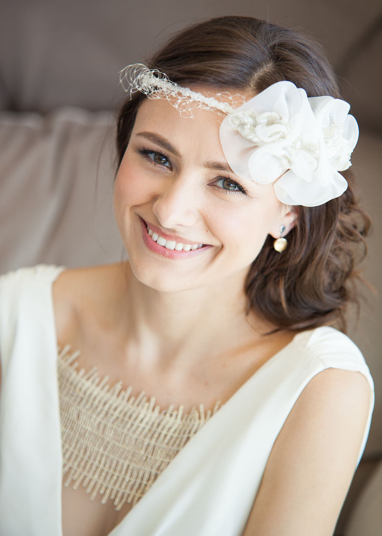 Bridal Hair And Makeup For Beautiful Russian Wedding In Malibu