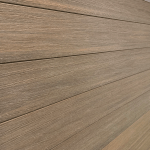 Qwickfence Mocca Composite Board Panel Elite Outdoor Living