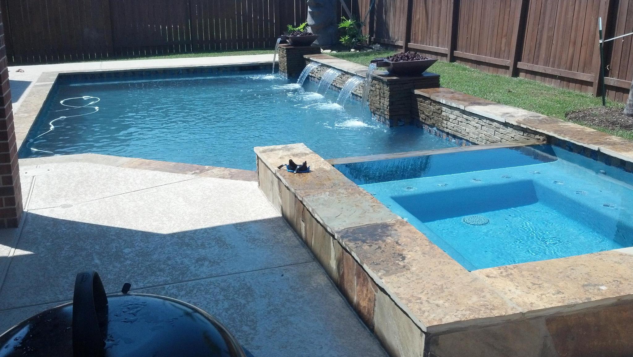 sleek pool design elite pools