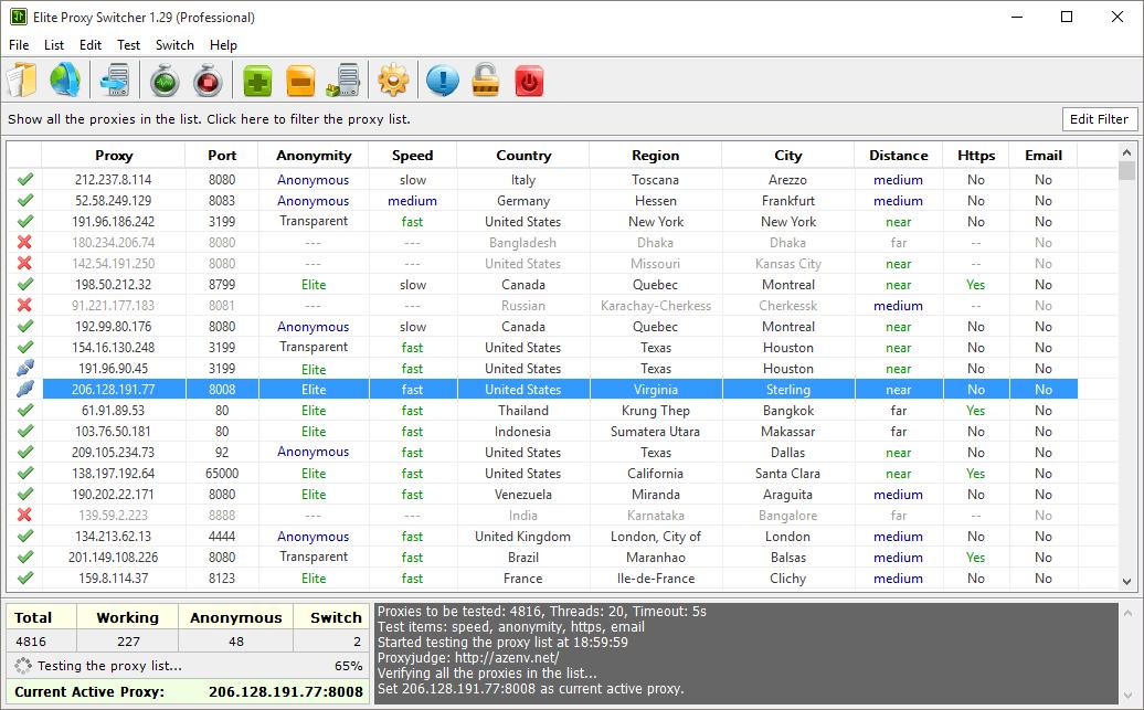 Proxy Switcher Pro Archives