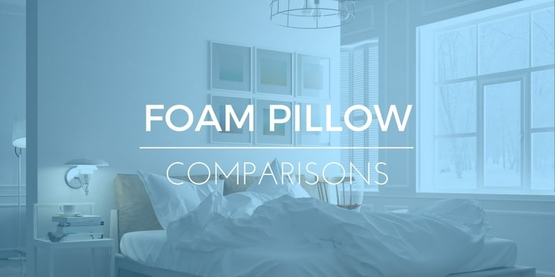 memory foam vs down filled pillows