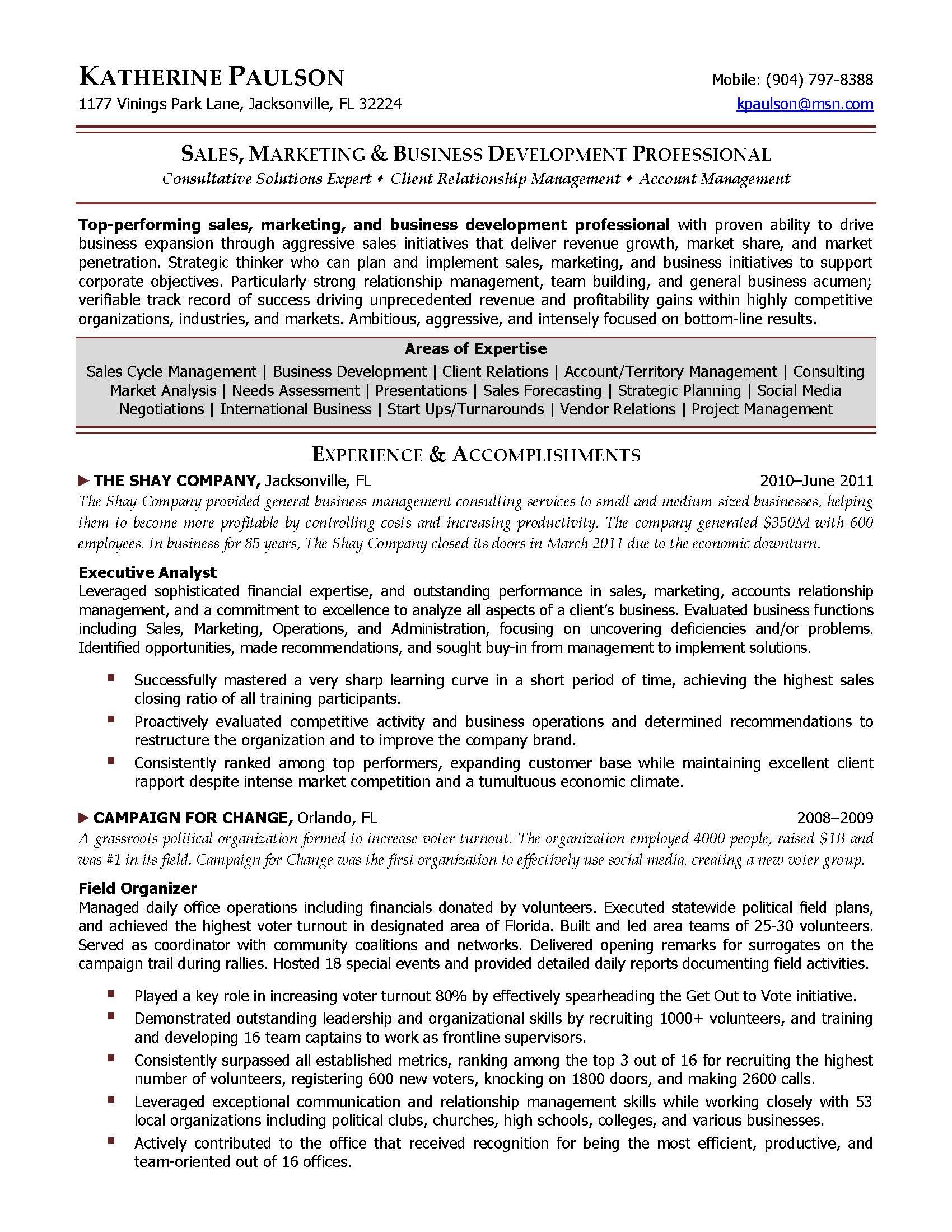 development director resume sample elite resume writing services