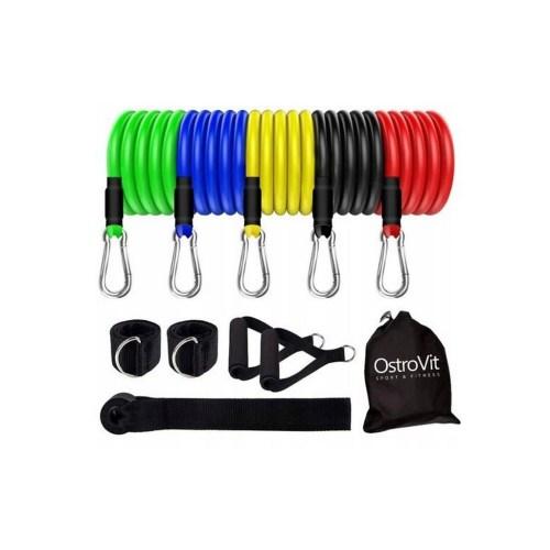 ostrovit-expander-kit-elastiques-entrainement-5-bandes