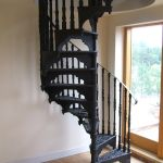 Cast Iron Reeded Spiral Staircase Elite Spiral Staircases
