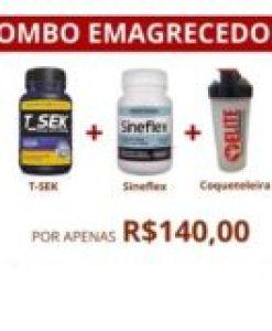 COMBO EMAGRECEDOR – T-SEK/SINEFLEX/COQUETELEIRA