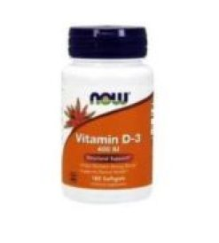 VITAMINA D3 – NOW FOODS