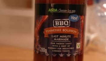 ASDA's BBQ Tennessee Bourbon sauce