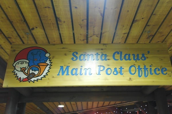 Oficina de correos de Santa en Laponia