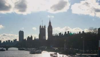 Big Ben from Waterloo Bridge, London