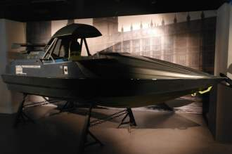 Q Boat - The World Is Not Enough - Bond in Motion exhibition - London Film Museum