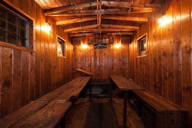 Cosy Caboose cabin!
