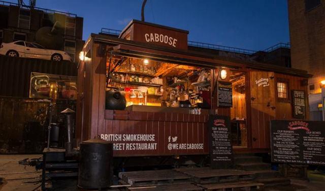 Caboose cabin