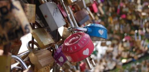 17 Photos of Love Locks, Pont des Arts & Pont Neuf Bridge, Paris