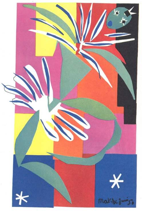 Creole Dancer - Henri Matisse, The Cut-Outs, Tate Modern
