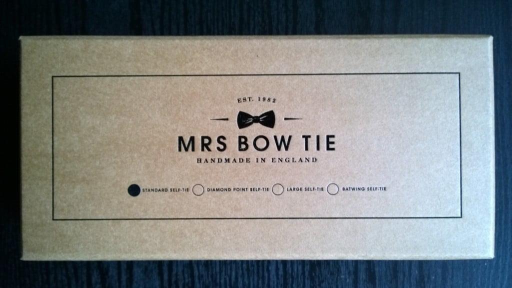 Mrs Bow Tie box