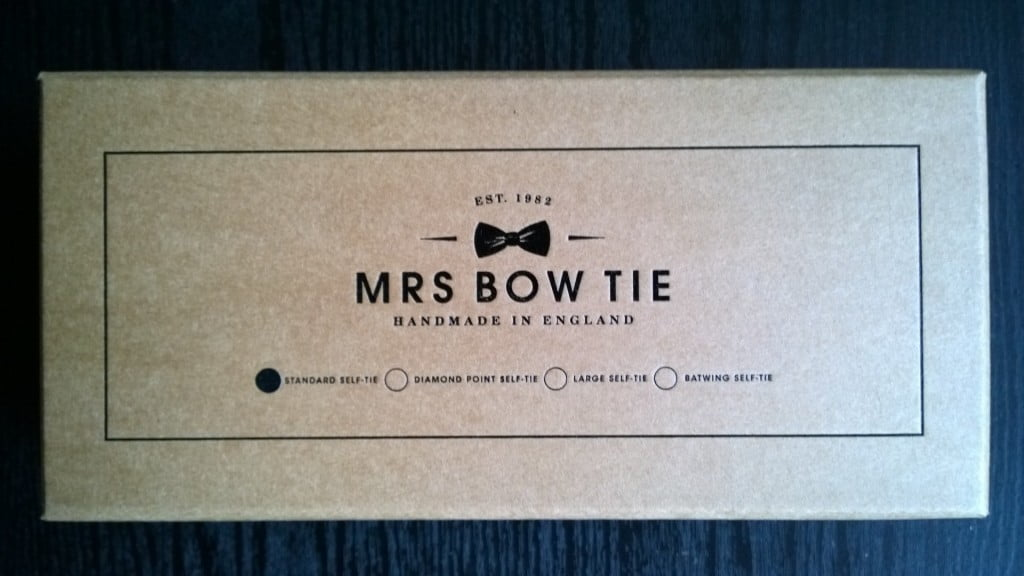 Mrs Bow Tie box