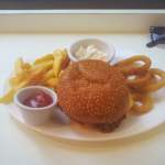 Pulled Pork Burger De-Luxe, Ed's Easy's Diner Review | Mayfair, London