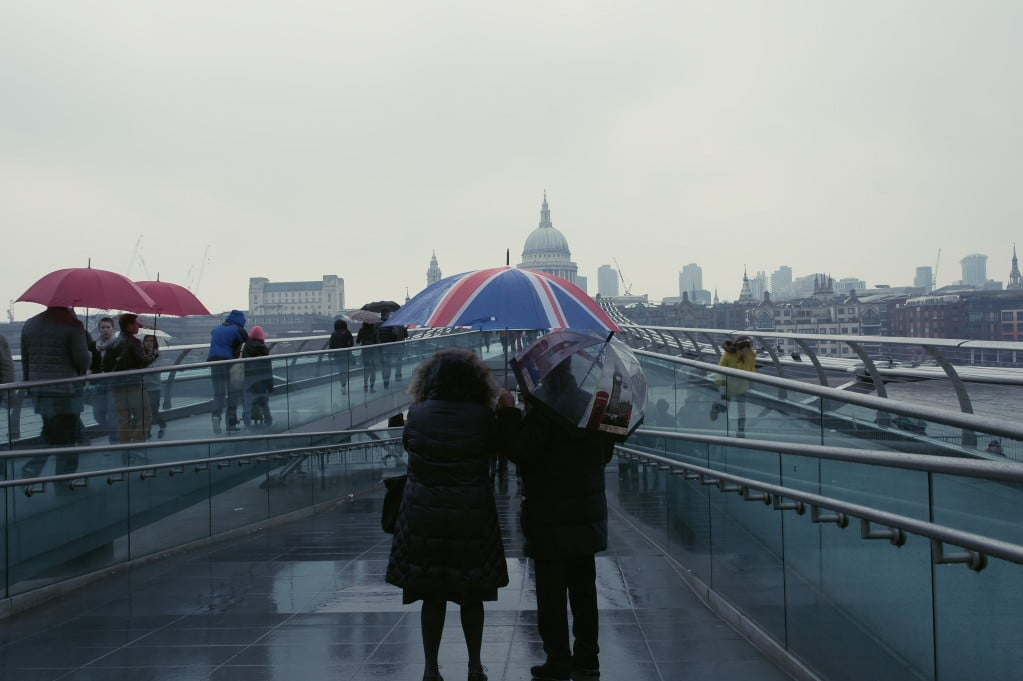 Tate Modern, Millenium Bridge, St Paul's Cathedral