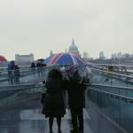 Tate Modern, Millenium Bridge, St Paul