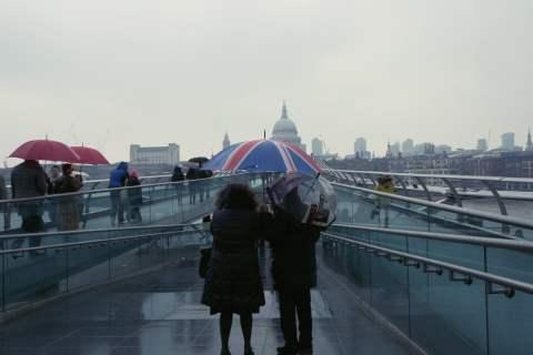 Tate Modern, Millenium Bridge, St Paul
