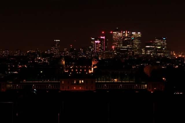 Greenwich Park - hilltop view