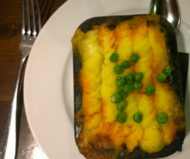 Roganjosh shepherd's pie