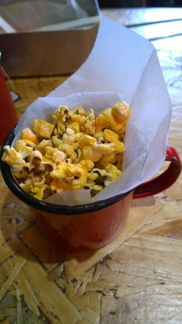 Spicy lamb popcorn