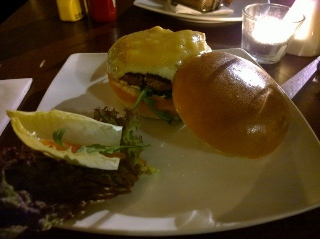Louisiana burger - Hache, Camden review