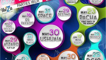 Ibiza club opening parties summer 2015