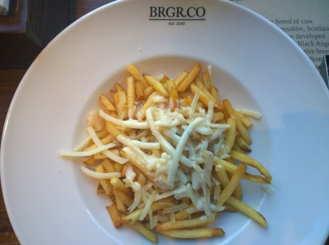Parmesan truffle fries  - Brgr.Co
