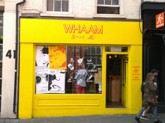 Whaam Banh Mi, Vietnamese Sandwiches, Soho, London