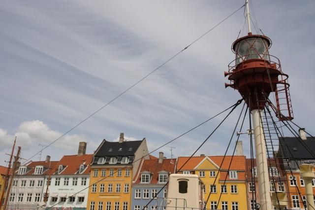 Boat lookout, Nyhavn, Copenhagen