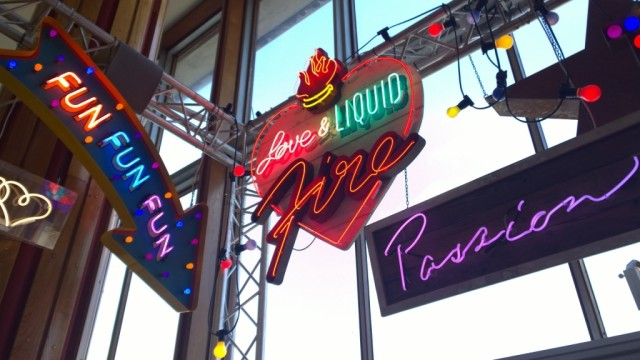 Fun fun fun and passion neon sign Chris Bracey