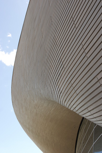 London Aquatics Centre roof