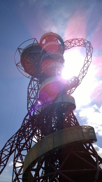 ArcelorMittal Orbit looking up