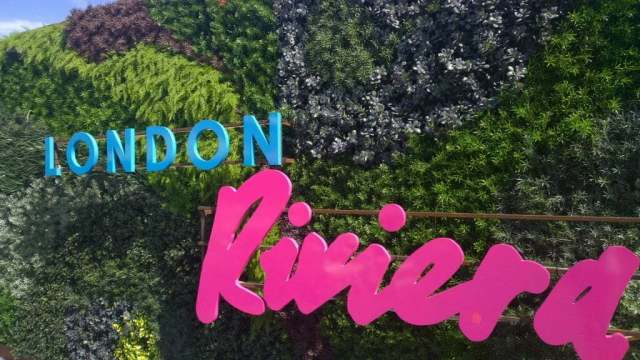 London Riviera pop up Southbank