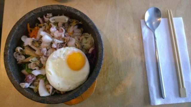 Seafood mix - Bibimbap Soho
