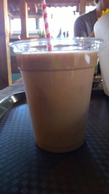 Chocolate milkshake Boneyard Shoreditch