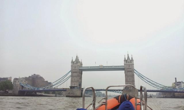 Tower Bridge boat Thames River