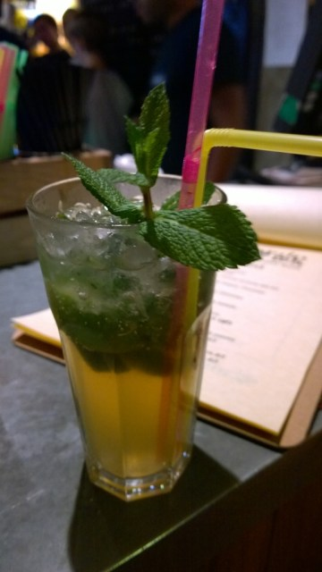 Virgin mojito, The Forge, Camden