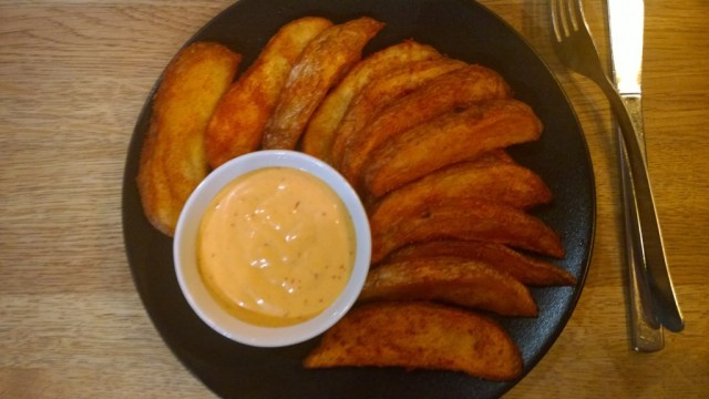 Potato wedges Cheeky Chico London
