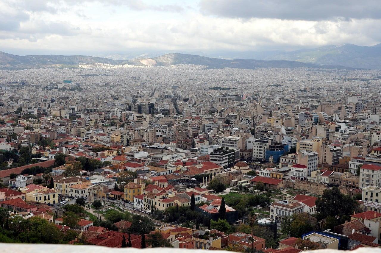 athens greece walk photo
