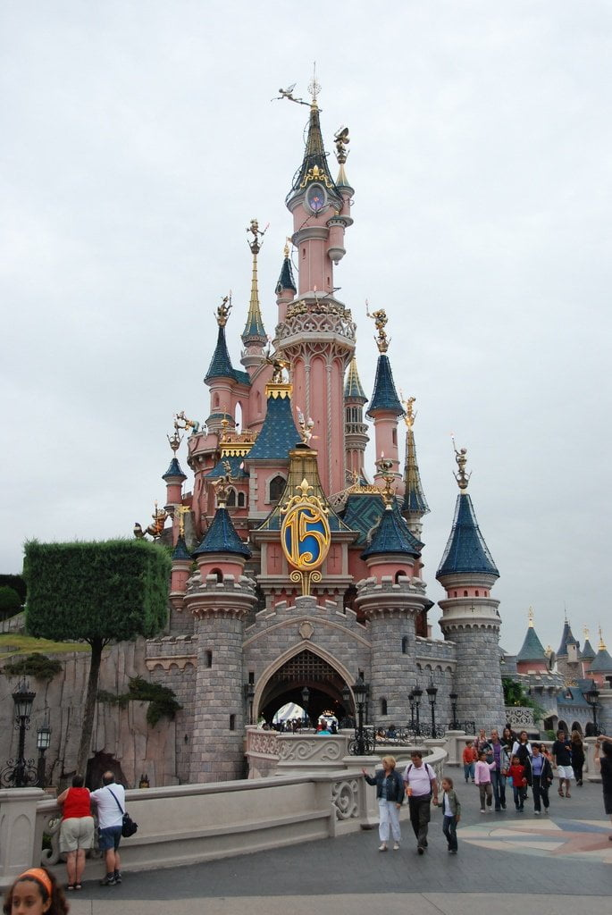 euro disney paris photo
