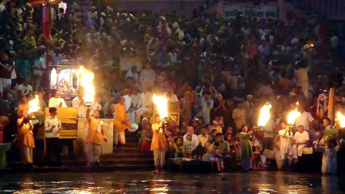 Ganga Aarti (Youtube.com)