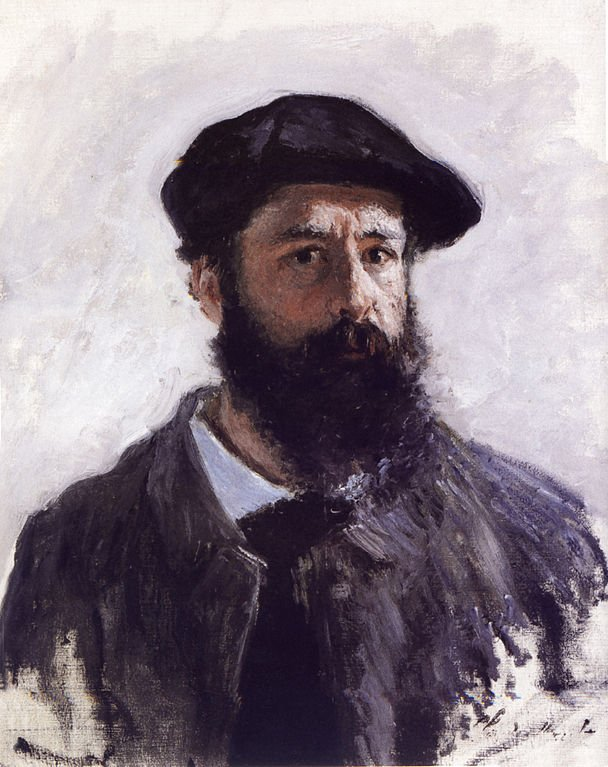 Monet self portrait